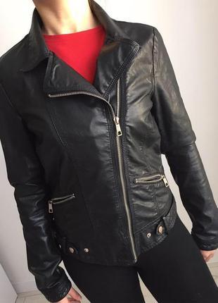 Косуха, куртка, вітровка trafaluc, черная косуха.