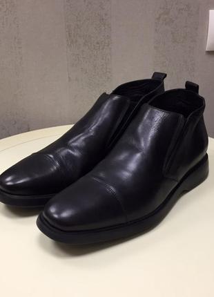 Ботинки мужские geox, кожа, новые, размер 44,5.