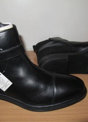 Демисезонные кожаные ботинки Esmara