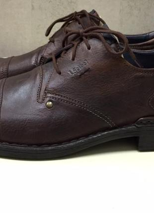 Туфли мужские josef seibel, кожа, новые, размер 44,5.