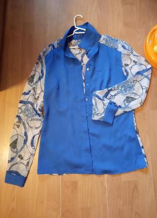 Рубашка в морском стиле