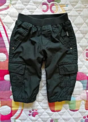 Детские хлопковые брендовые спортивные брюки для мальчика mexx...