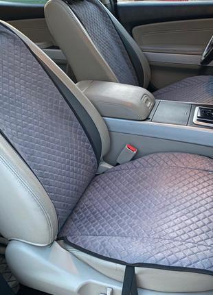 Накидки, чехлы на сидения авто из искусственной замши Алькантара