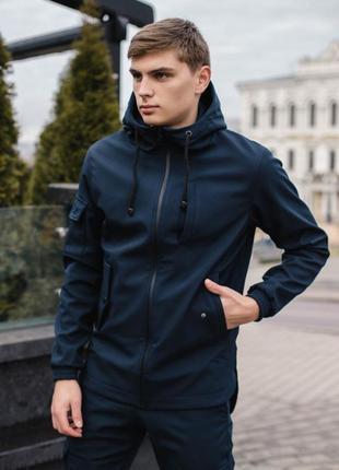 Мужские куртки soft shell демисезонные