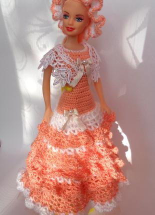 кукла в аутфите ручной работы