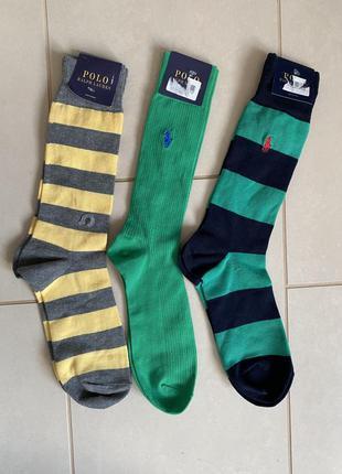 Набор изумительных носочков премиум класса ralph lauren мужски...