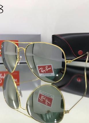 Стильные очки авиатор ray ban rb 3028