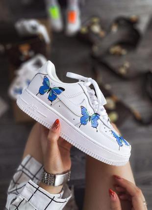 Женские шикарные кроссовки 🔥 nike air force butterfly
