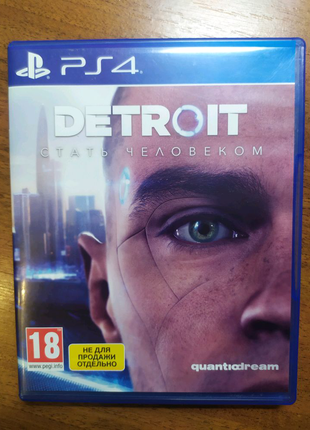 Диск с игрой Detroit : Become Human