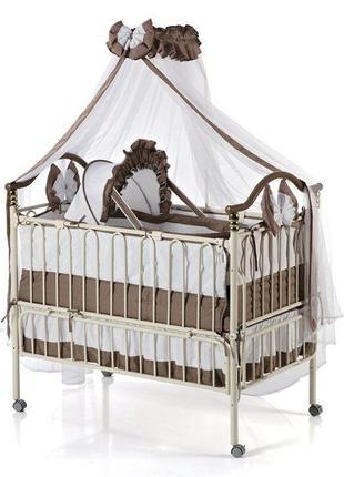 Кроватка детская Geoby TLY-612R-B22 б/у + матрас в подарок!