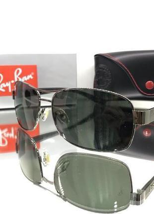 Стильные мужские очки ray ban rb 3379
