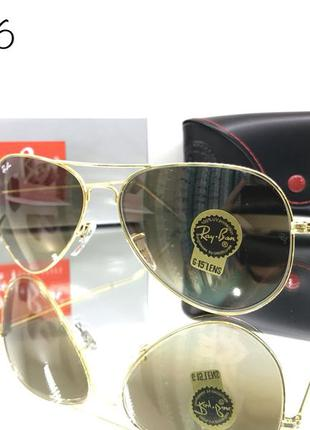 Стильные очки авиатор ray ban rb 3026