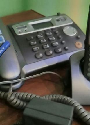 Телефон Panasonic KX-TCD540RUM + трубка PQLV 30018 zam (б/у)