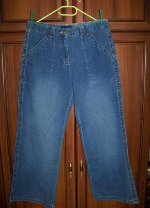 Джинсы женские синие с накладными карманами broоker 16 или 42 ...