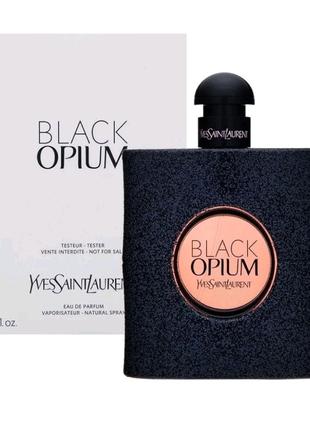 Женский парфюм Black Opium Yves Saint Laurent (90 мл ) ТЕСТЕР