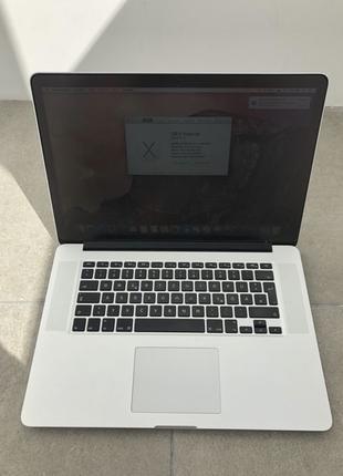 """MacBook pro 15"""" 2014 MGXC2 /2,2GHz/i7/16/512gb"""