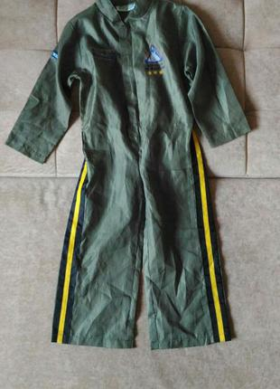 Карнавальный костюм аэро пилота, кигуруми/ комбинезон, размер ...