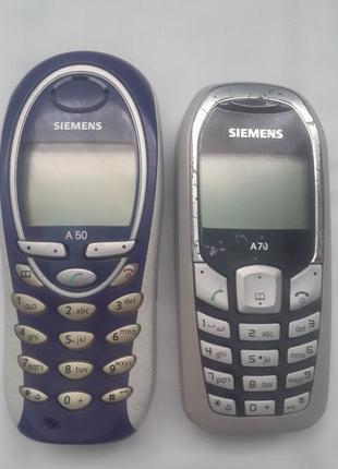 Мобільні телефони Siemens A50 , A70 .