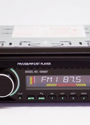 Автомагнитола Pioneer 1085BT Bluetooth USB AUX съемная панель