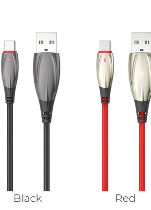 Кабель USB Hoco U71 Star Lightning Cable