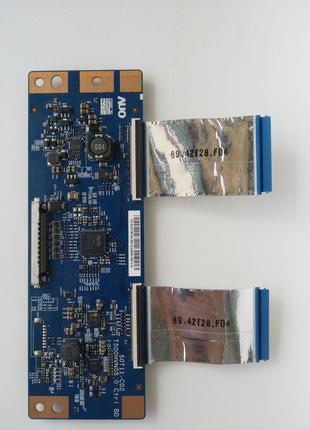 Плата T-con 50T11-C02 от тв Samsung UE42F5500