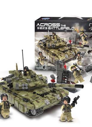 Конструктор XingBao XB-06015 Тяжёлый танк Тигр, 1386 деталей