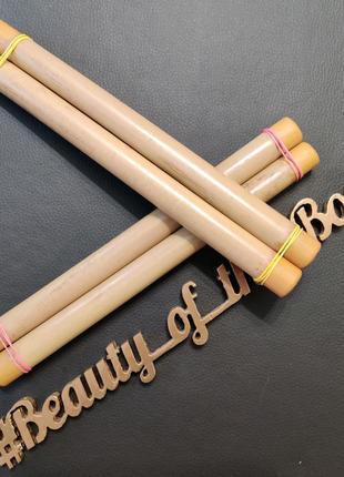 Бамбуковые палочки для антицеллюлитного массажа