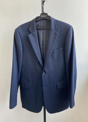 Jaeger классический шерстяной мужской пиджак