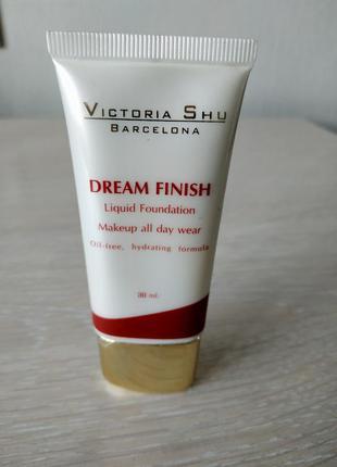 Тональный крем крем-пудра светлый оттенок испания victoria shu