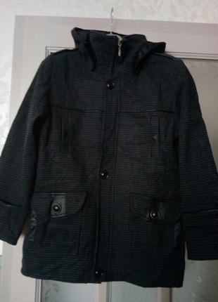 Подростковое пальто на мальчика