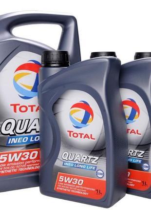Моторное масло Total Quartz 10w40 5л.