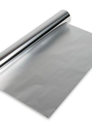 Фольга пищевая алюминиевая для запекания 100м/44см.