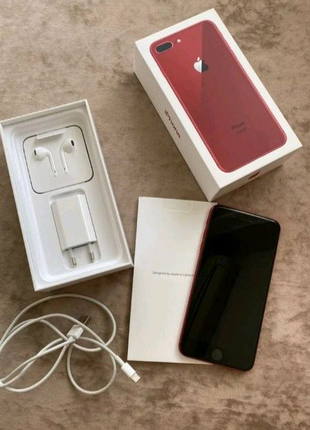 Apple iPhone 8 Plus 256gb Red Product Neverlock