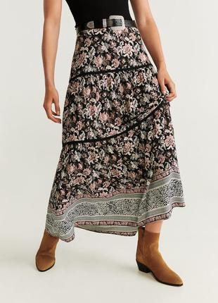 Красивая макси-юбка