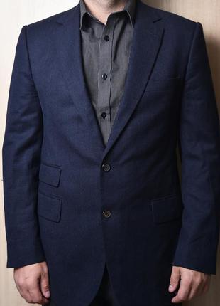 Стильный  шерстяной пиджак gives & hawkes