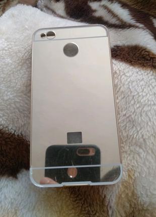 Чехол для Xiaomi Redmi 4x золотий