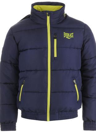 Куртка мужская зимняя бомбер Everlast Bubble L 48р Оригинал Синий