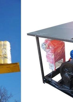 Н-53 метров, г/п 500 кг. Грузовые мачтовые подъёмники секционные