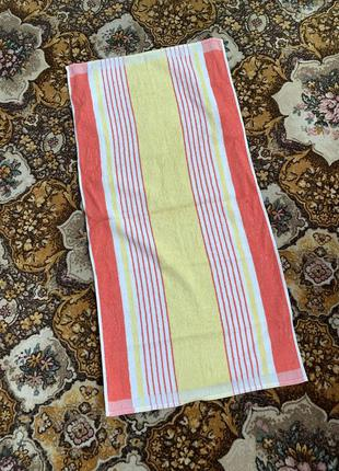 Советское махровое полотенце