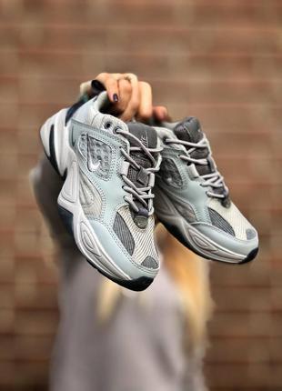 Кросівки nike m2k tekno gray кроссовки