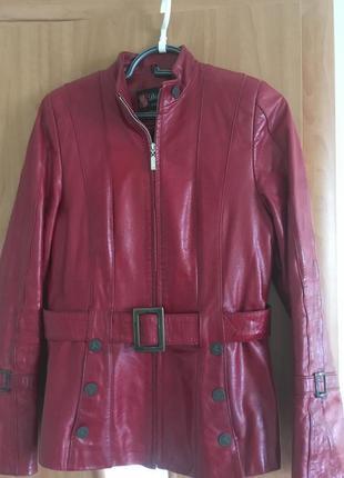 Кожаная курточка   (+3-я вещь в подарок🌹🌹🌹)