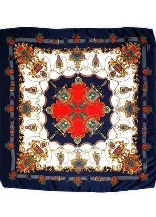 Большой платок в стиле hermes.