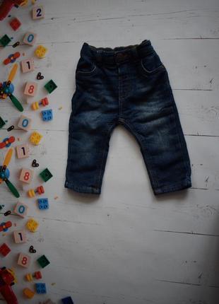 Утеплённые джинсы george 4-7 месяцев