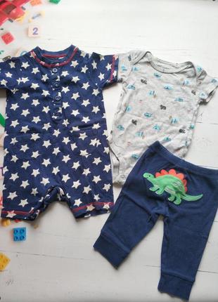 Комплект одежды для малыша 0-6 месяцев