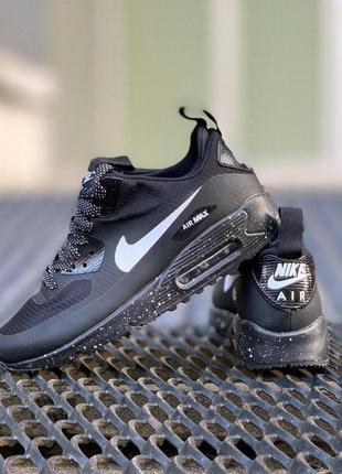Кроссовки nike air max 90 mid winter black white