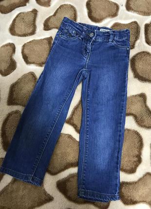 Стильные джинсы на девочку 3 года