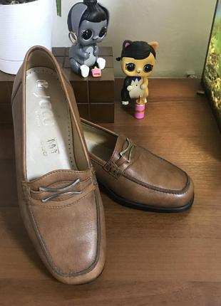 Новые брендовые кожаные туфли лоферы класса lux jaco германия ...