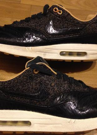 Кроссовки Nike Air Max 1 FB Quilted Leopard 44,5-45р.сост.отл.о