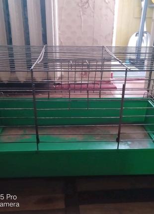 Клетка для кролика,шиншилы,хомячков +подарки для вашего грызуна)