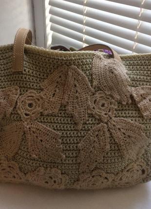 Сумочка из текстиля - это отличный эксклюзивный аксессуар